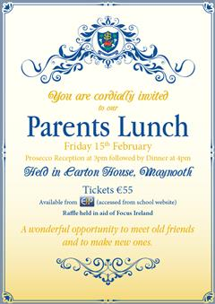 Parents Association Lunch
