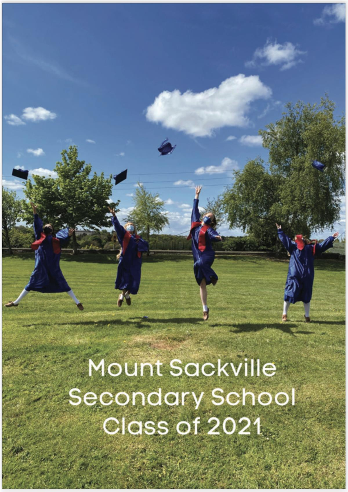 Graduating Class of 2021 commemorate with a Memory Book