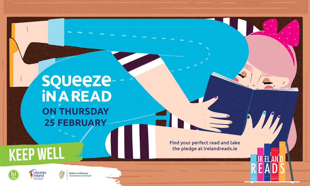 Ireland Reads, Thursday 25th February